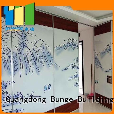 Bunge Brand acoustic conference folding panel partition classroom supplier