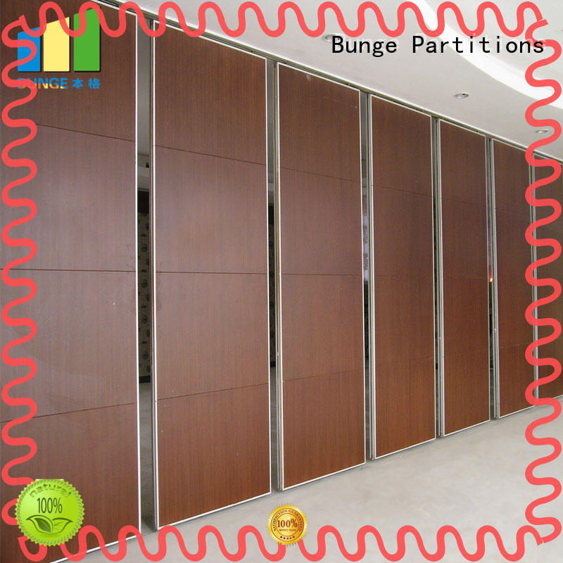 soundproof conference room partition walls customized for office EBUNGE