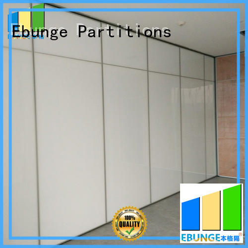 EBUNGE hanging system folding room partitions supplier for office