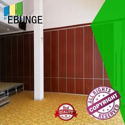 EBUNGE aluminium frame folding walls residential wholesale for meeting room