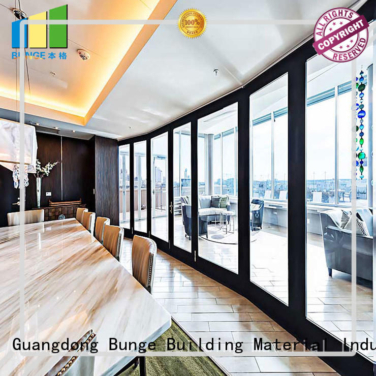 EBUNGE multi color glass wall factory direct supply for conference room