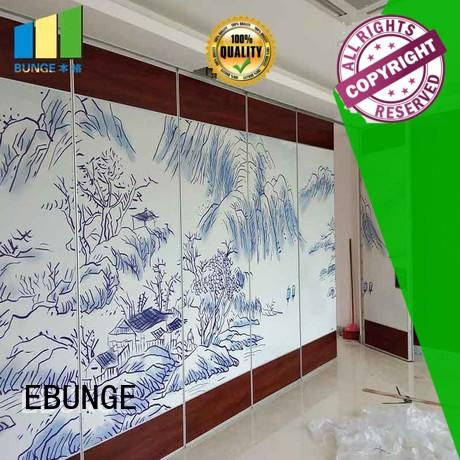 EBUNGE multipurpose movable walls commercial for schools