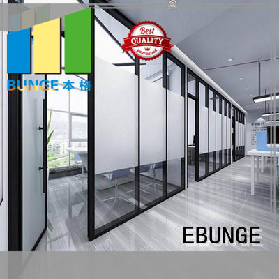 EBUNGE cost-effective glass wall doors wholesale for banquet hall