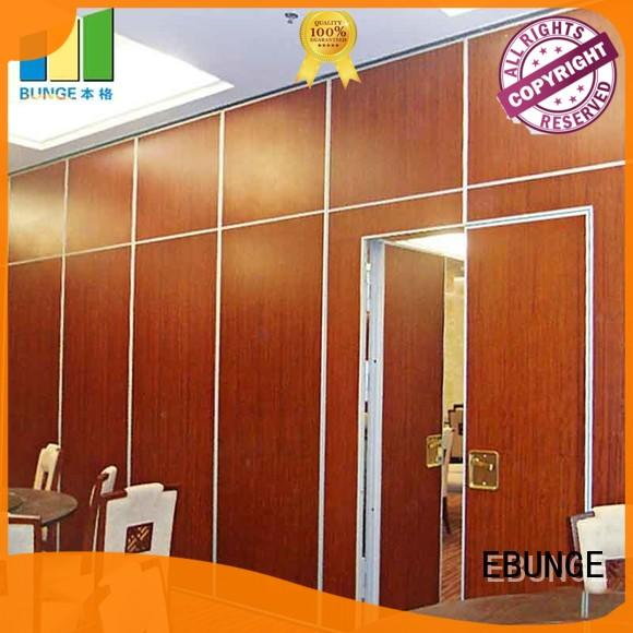EBUNGE folding room partitions wholesale for meeting room