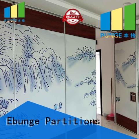 EBUNGE professional folding partition walls for home supplier for meeting room