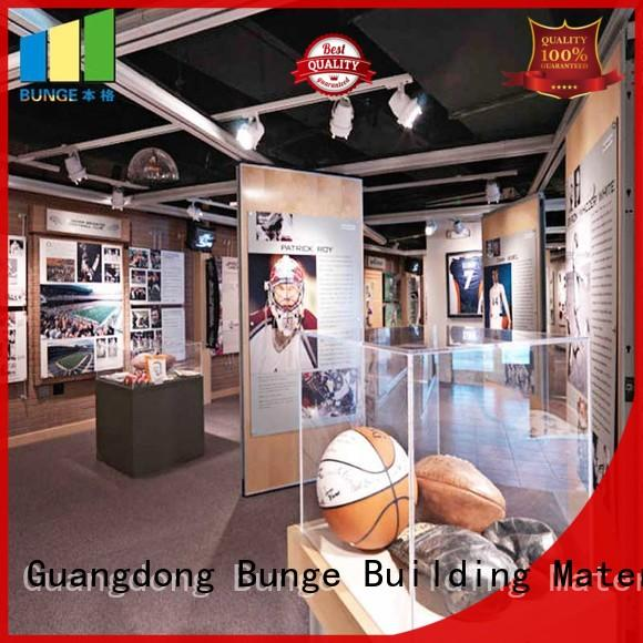 EBUNGE MDF wall partition with door wholesale for shop