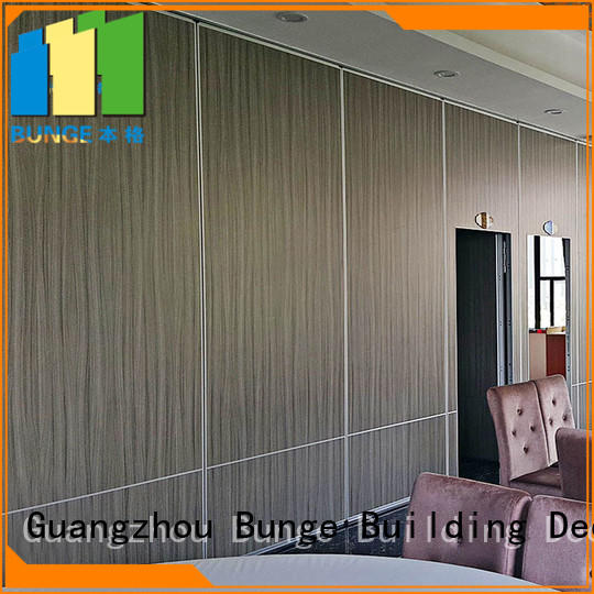 Bunge Brand exhibition door walls folding wall