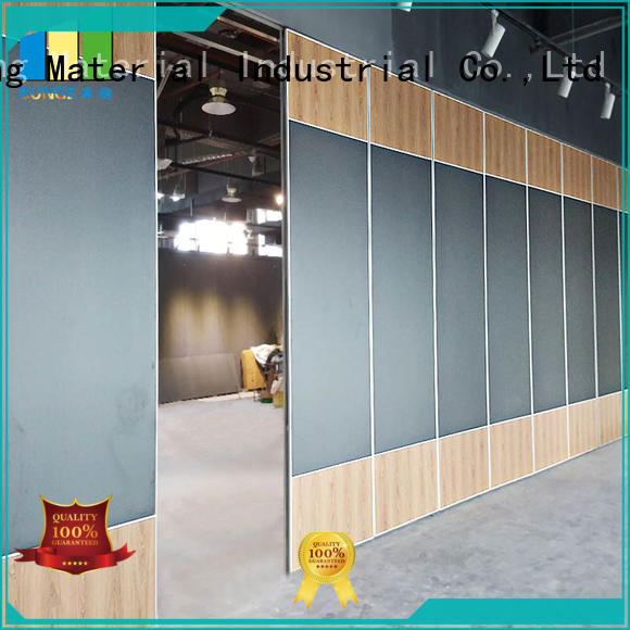 convenient partition wall with sliding door series for banquet halls EBUNGE