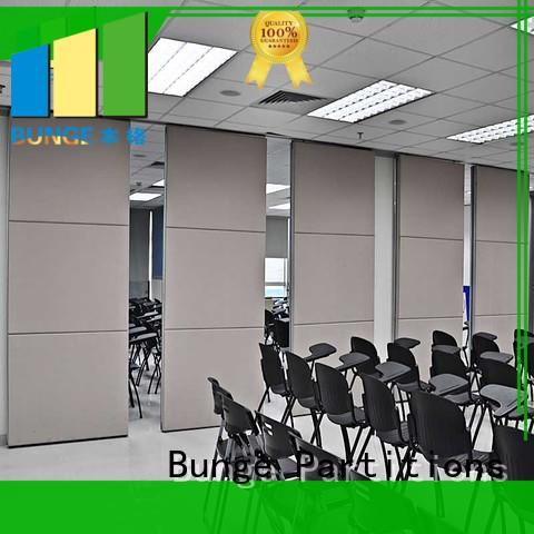EBUNGE decorative commercial room dividers sliding for exhibition centers