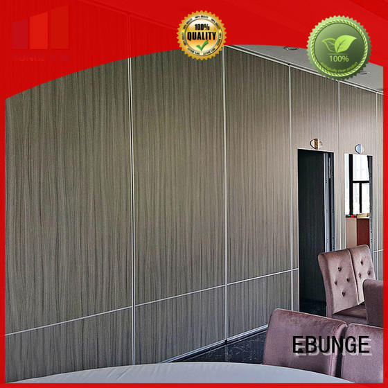 EBUNGE fireproof partition wall design with good price for conference room