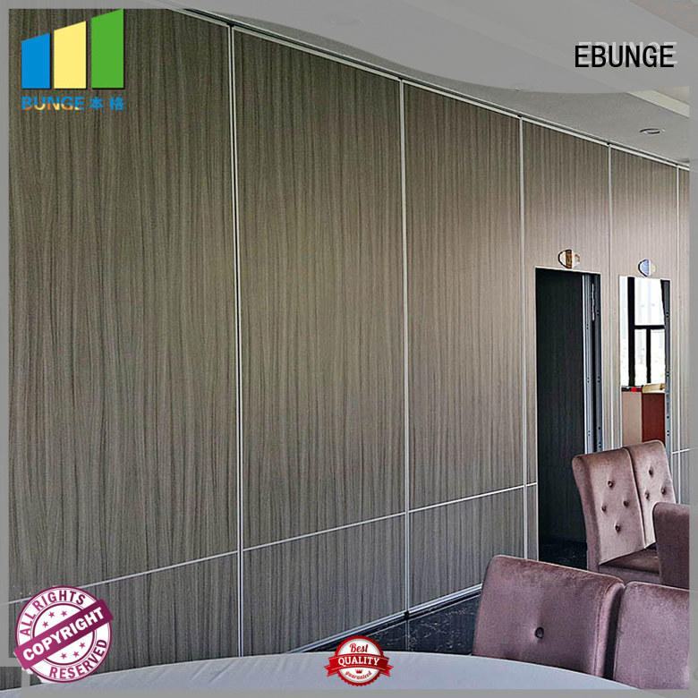 operable movable partition wall systems customized for office EBUNGE