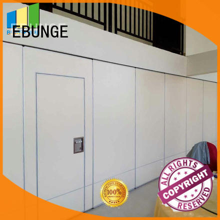 EBUNGE flexible temporary movable walls supplier for meeting room