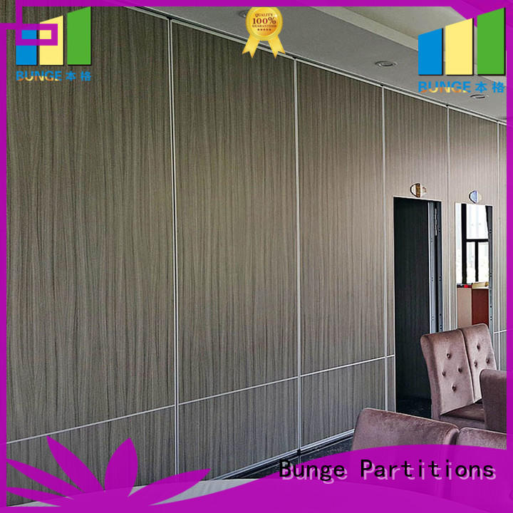 EBUNGE foldable partition wall supplier for conference room