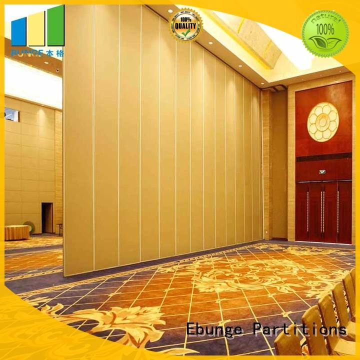 EBUNGE wall divider design manufacturer for auditorium