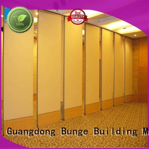 EBUNGE professional folding wall divider customized for conference room