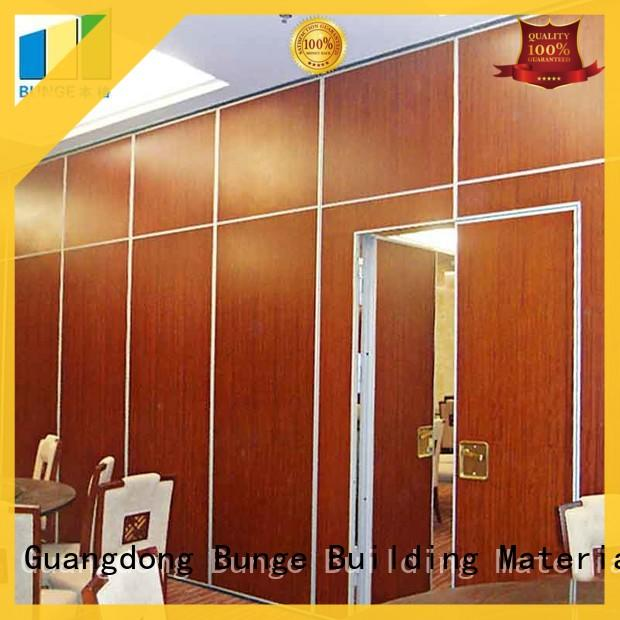 EBUNGE folding partition walls for home customized for meeting room