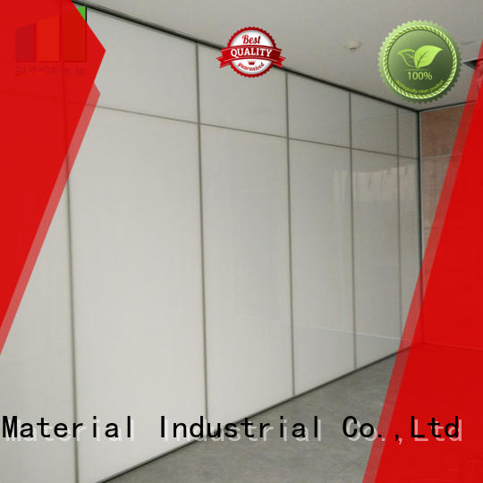 EBUNGE operable folding room partitions customized for office