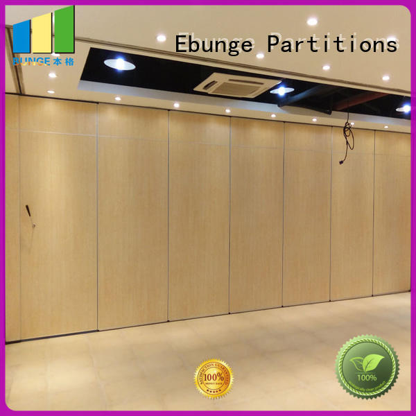 EBUNGE convenient movable room dividers directly sale for meeting rooms