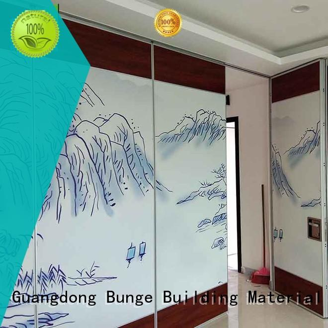 EBUNGE operable foldable partition for banquet hall
