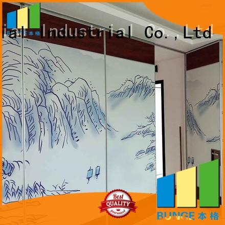operable folding room partitions manufacturer for meeting room