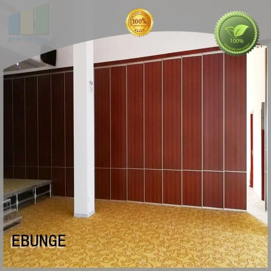 EBUNGE folding partition wall manufacturer for banquet hall