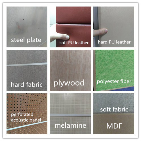 Sound Absorption Wall Panel Polyester Fiber Sliding Folding Movable Operable Partition Wall