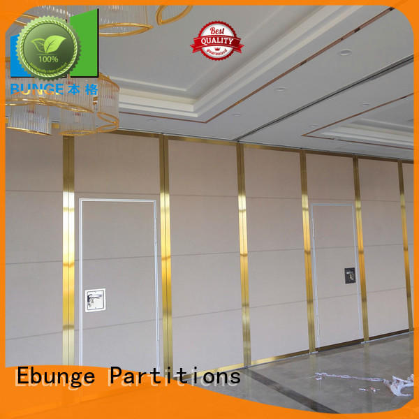 EBUNGE modern operable partitions factory direct supply for restaurant