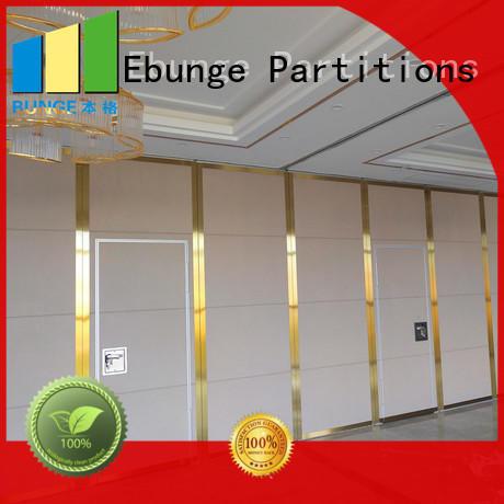 wooden half wall room divider manufacturer for conference room