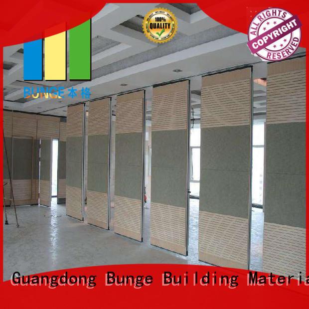 EBUNGE sliding room dividers factory direct supply for banquet halls