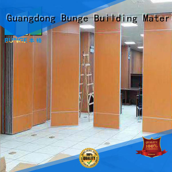 EBUNGE modern interior partition wall manufacturer for function hall