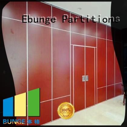 aluminium frame temporary partition wall supplier for auditorium