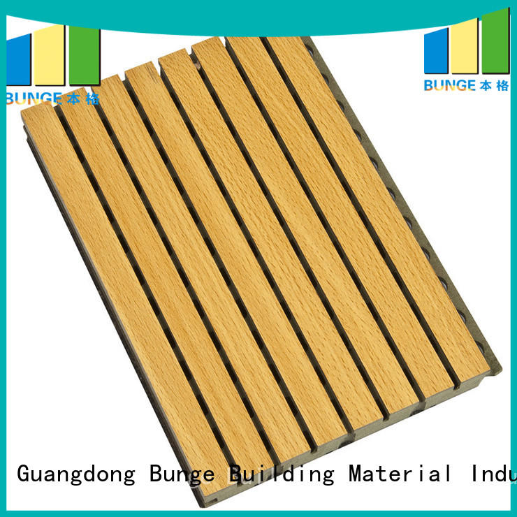 acoustic panel material insulation materials Bunge Brand