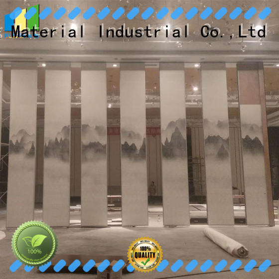wooden sliding wall panels factory direct supply for meeting rooms