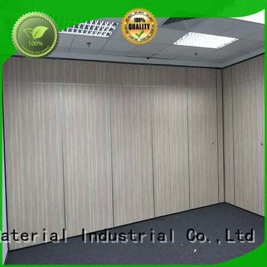 durable wall partition with door supplier for conference room