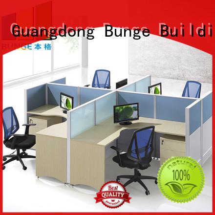 EBUNGE 4 person workstation desk supplier for office