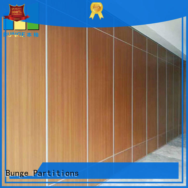 BUNGE soundproof partition wall material supplier for work