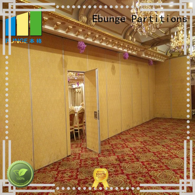 EBUNGE sound proof partition wall wholesale for conference room