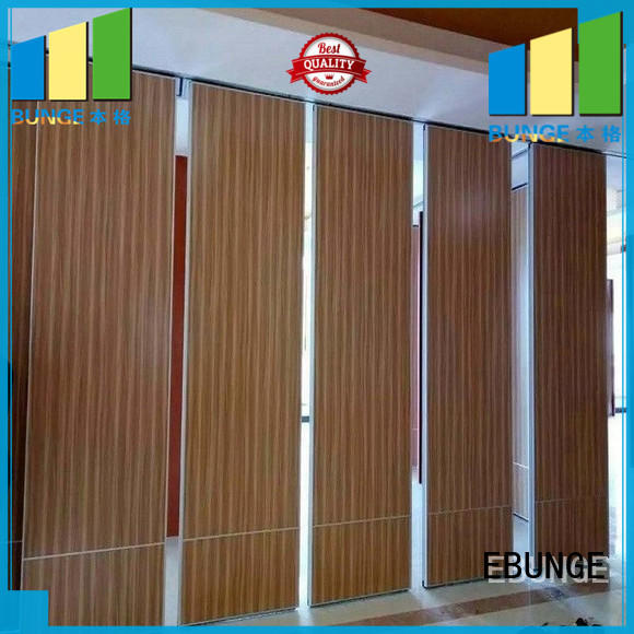EBUNGE wooden office dividers from China for meeting room