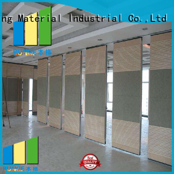 folding operable partition walls factory direct supply for conference room