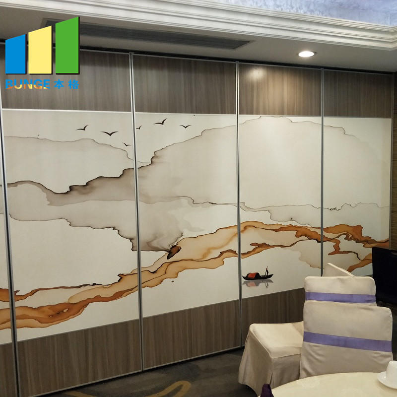 Sliding Foldable Movable Partition Walls For Banquet Hall,Restaurant,Church