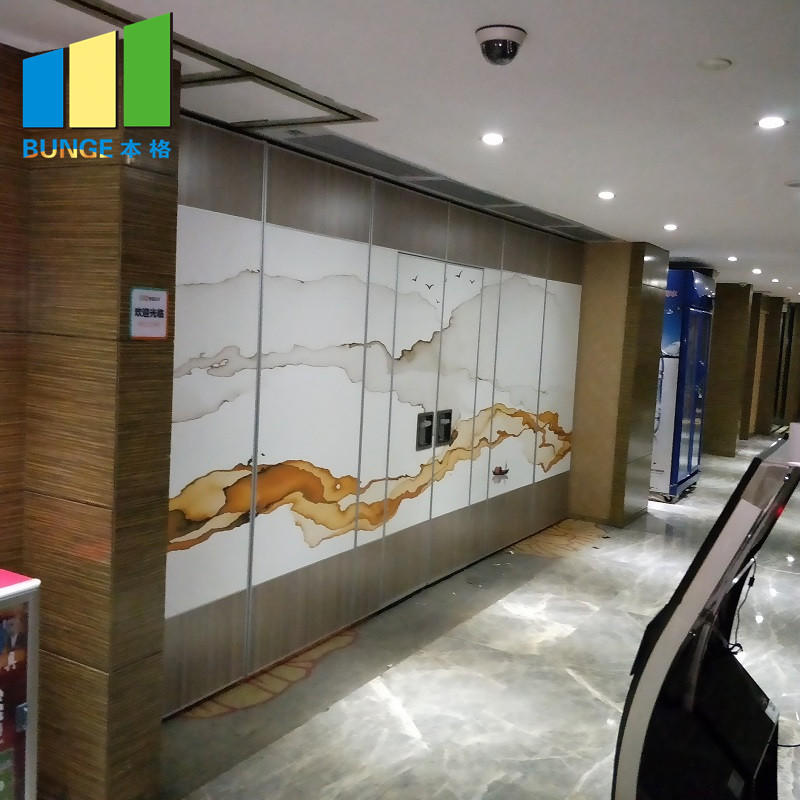 Sliding Foldable Movable Partition Walls For Banquet Hall,Restaurant,Church-EBUNGE