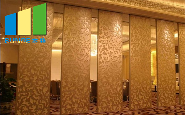 Bunge-Folding Partition Hotel Moveable Partitions Removable Wall Dividers-14