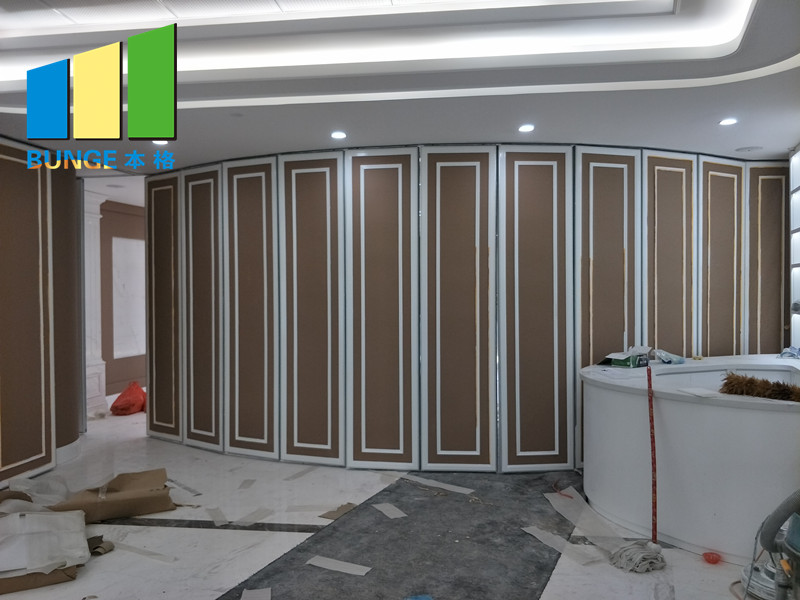 Bunge-Manufacturer Of Moving Wall Soundproof Acoustic Operable Partition-4