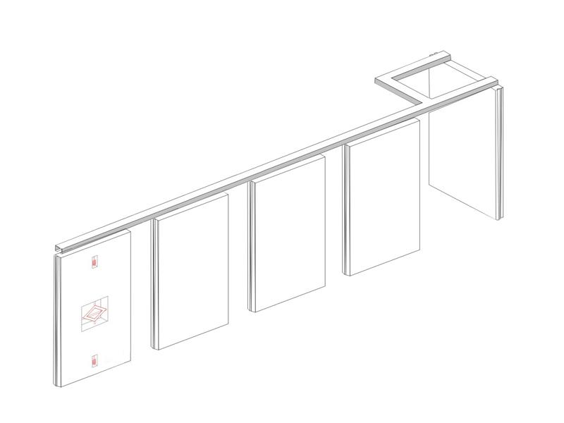 Bunge-Sliding Room Dividers Customized Melamine Finish Acoustic Operable Folding-9