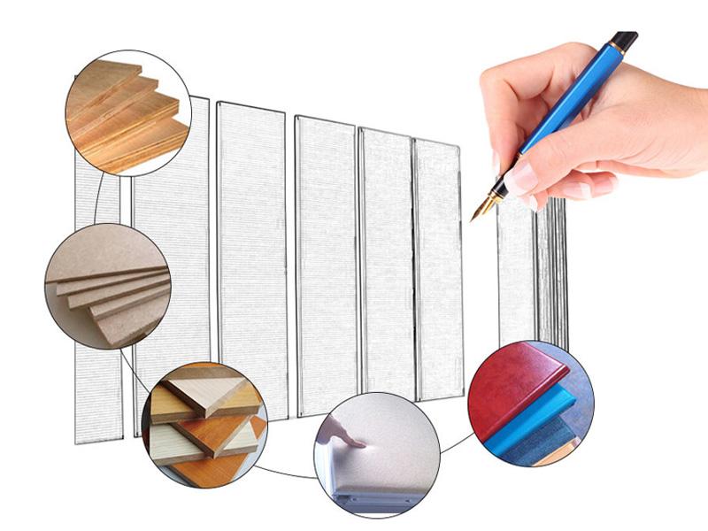 Bunge-Sliding Room Dividers Customized Melamine Finish Acoustic Operable Folding-11