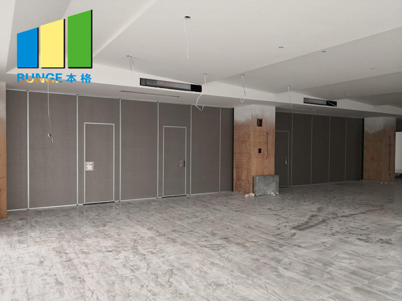 EBUNGE rolling partition wall supplier for function hall