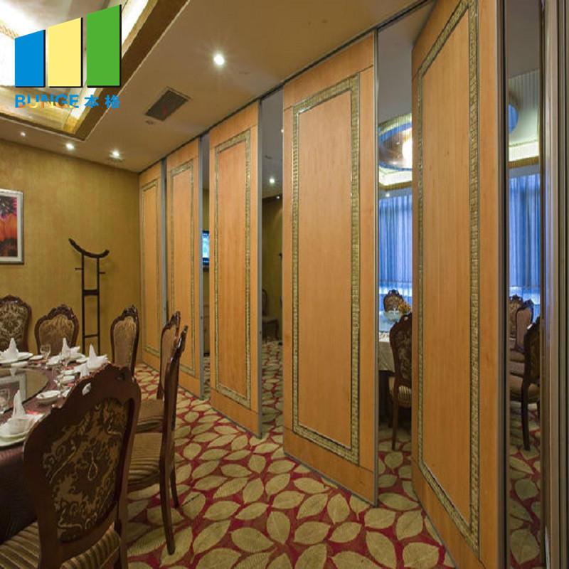 proof retractable movable melamine Bunge Brand sliding room dividers supplier