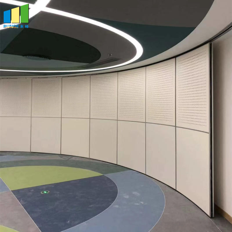Interior Mobile Operable Sliding Sound Proofing Partitions-EBUNGE