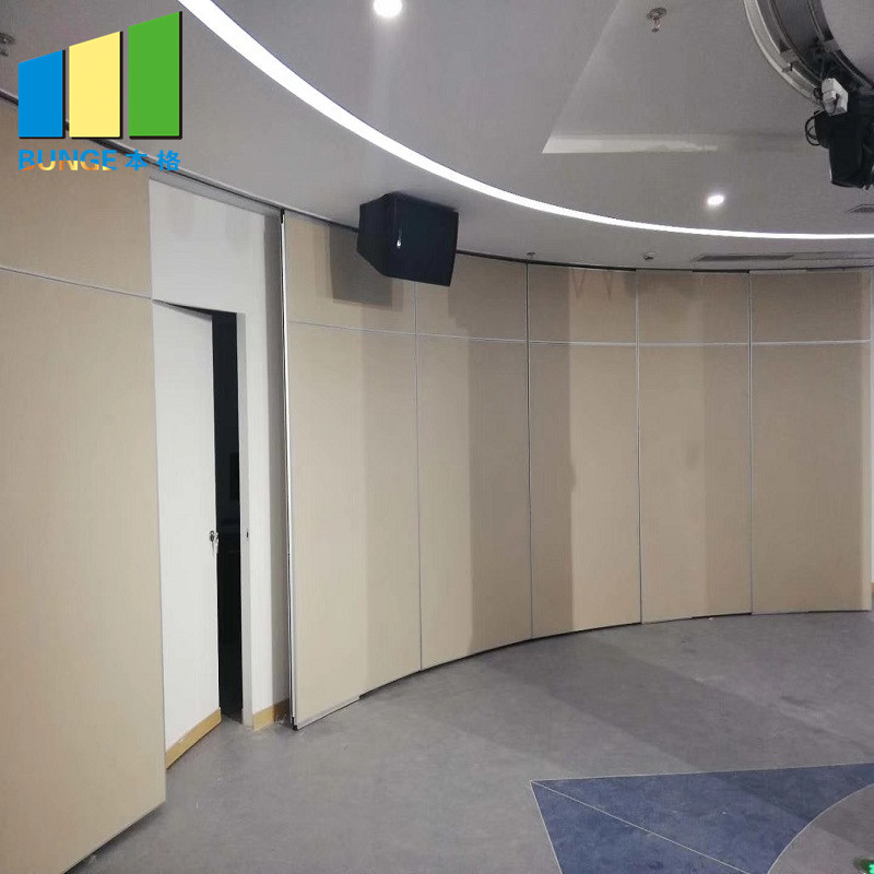 Bunge-Find Rolling Partition Wall Foldable Soundproof Partition Wall - Bunge-1