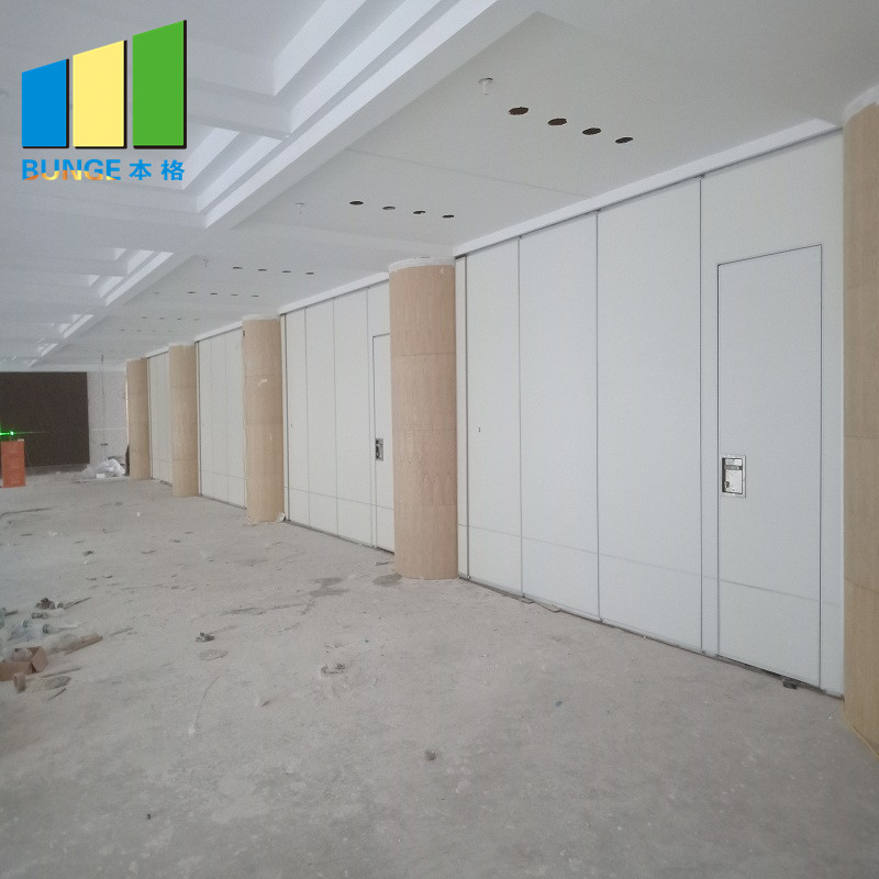 Bunge-Find Rolling Partition Wall Foldable Soundproof Partition Wall - Bunge-4